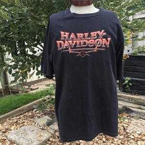 Harley Davidson Men's Foreign Country 2X T-shirt